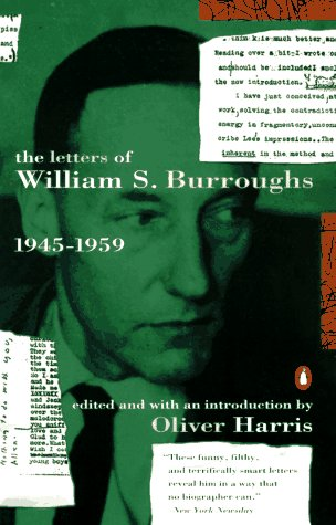 Letters of William S. Burroughs 1945-1959 N/A edition cover