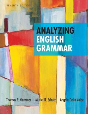 Analyzing English Grammar  7th 2013 (Revised) edition cover