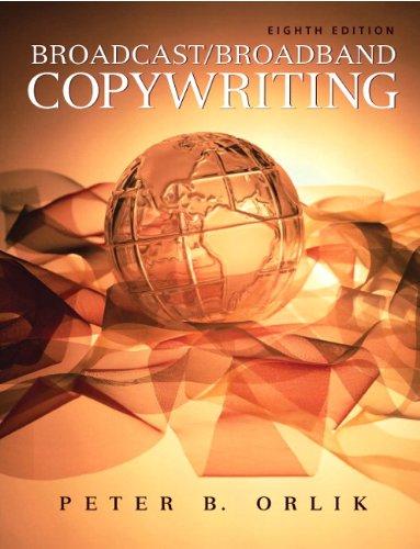 Broadcast/Broadband Copywriting  8th 2010 edition cover