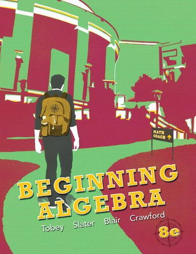 Beginning Algebra  8th 2013 (Revised) edition cover