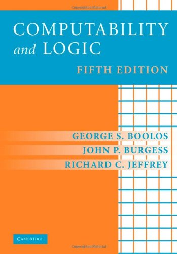 Computability and Logic  5th 2007 (Revised) 9780521877527 Front Cover