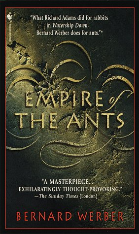 Empire of the Ants A Novel Reprint 9780553573527 Front Cover