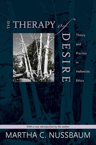 Therapy of Desire - Theory and Practice in Hellenistic Ethics   1996 edition cover