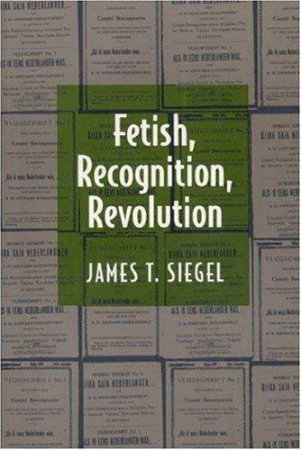 Fetish, Recognition, Revolution   1997 9780691026527 Front Cover