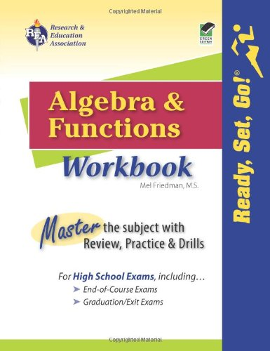 Algebra and Functions Workbook  Workbook edition cover