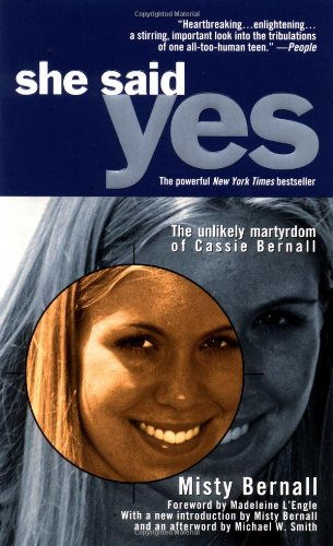 She Said Yes The Unlikely Martyrdom of Cassie Bernall  1999 edition cover
