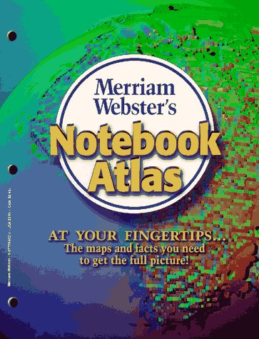 Merriam-Webster's Notebook Atlas   2010 9780877796527 Front Cover