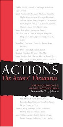 ACTIONS the Actors' Thesaurus   2004 edition cover