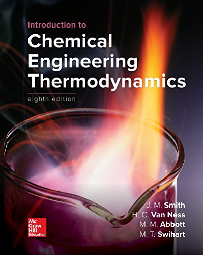 Introduction to Chemical Engineering Thermodynamics  8th 2018 9781259696527 Front Cover