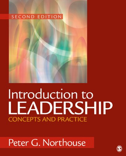 Introduction to Leadership Concepts and Practice 2nd 2012 edition cover