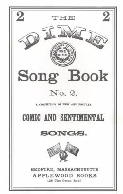 Dime Song Book #2  N/A 9781557095527 Front Cover