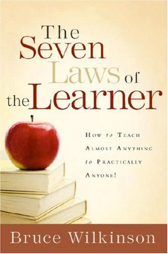 Seven Laws of the Learner How to Teach Almost Anything to Practically Anyone  1992 edition cover