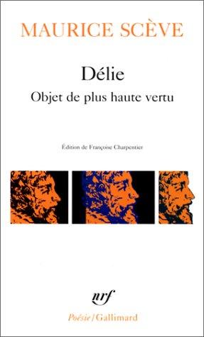 Delie 1st 9782070322527 Front Cover
