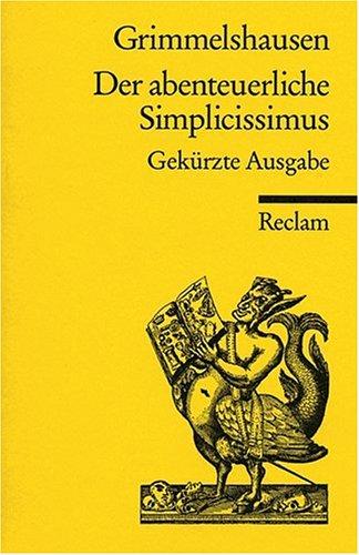 DER ABENTEUERLICHE SIMP./GEKUR 1st edition cover
