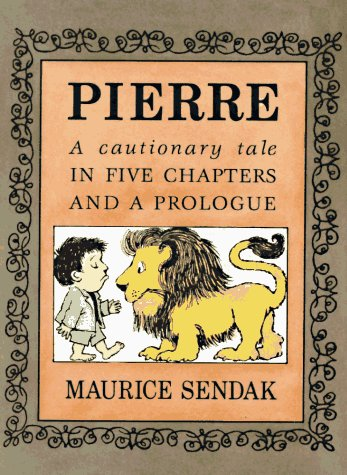Pierre A Continuous Tale in Five Chapters and a Prologue  1991 edition cover