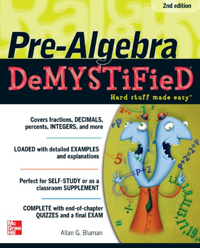 Pre-Algebra Hard Stuff Made Easy 2nd 2011 (Revised) edition cover