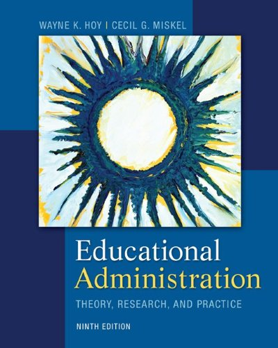 Educational Administration Theory, Research, and Practice 9th 2013 edition cover