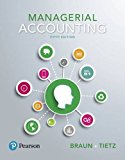 Managerial Accounting:   2017 9780134128528 Front Cover