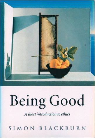 Being Good A Introduction to Ethics  2001 edition cover