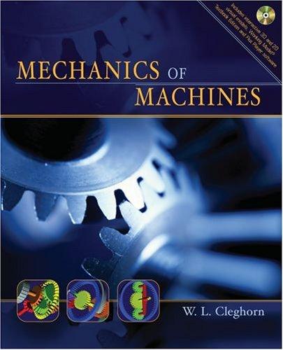 Mechanics of Machines   2005 edition cover
