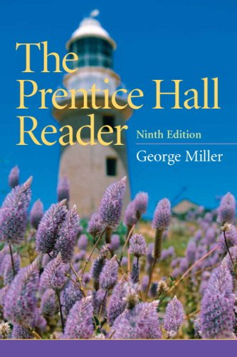 Prentice Hall Reader  9th 2010 edition cover