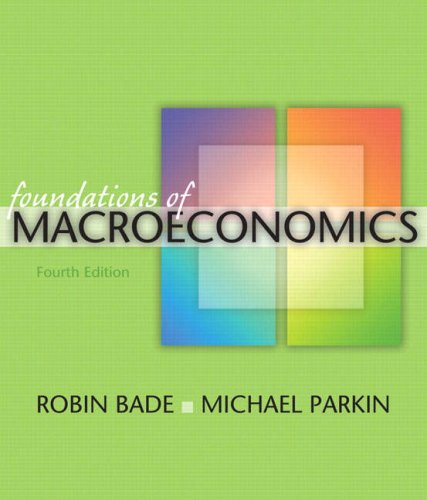 Foundations of Macroeconomics  4th 2009 edition cover