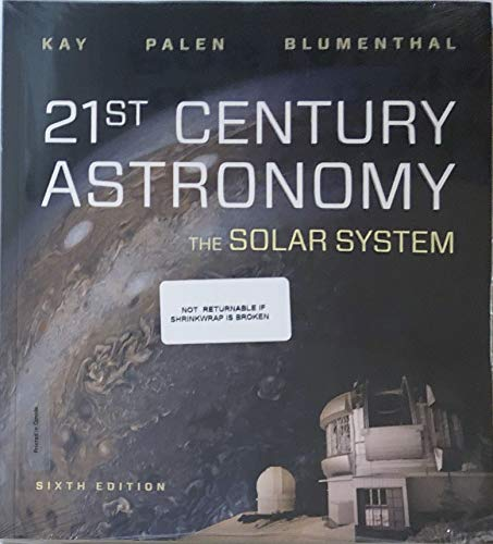 21st Century Astronomy The Solar System 6th 9780393675528 Front Cover
