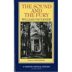 Sound and the Fury   1987 edition cover