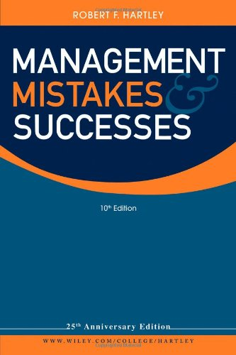 Management Mistakes and Successes  10th 2011 edition cover
