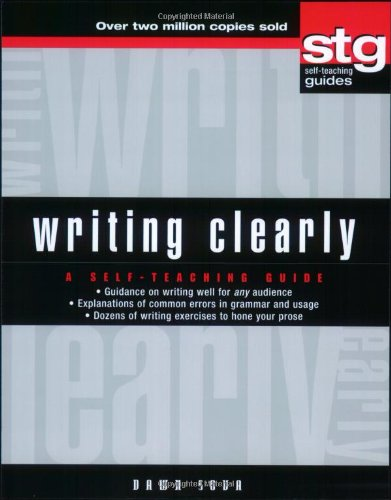 Writing Clearly A Self-Teaching Guide  2004 9780471179528 Front Cover