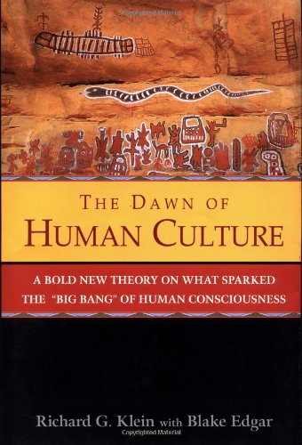 Dawn of Human Culture   2002 9780471252528 Front Cover