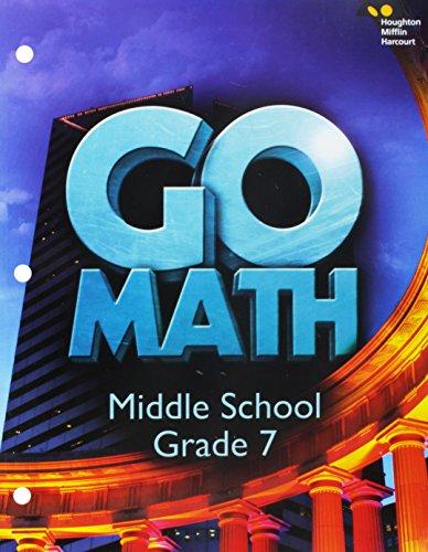 Go Math! 2016 Worktext, Grade 7:   2015 9780544707528 Front Cover
