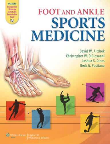 Foot and Ankle Sports Medicine   2013 edition cover