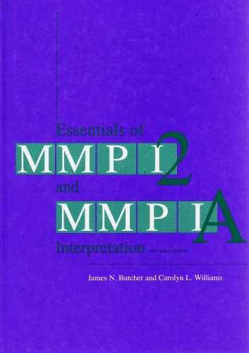 Essentials of MMPI-2 and MMPI-A Interpretation  2nd 2000 (Revised) edition cover