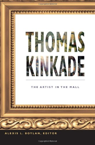 Thomas Kinkade The Artist in the Mall  2011 edition cover