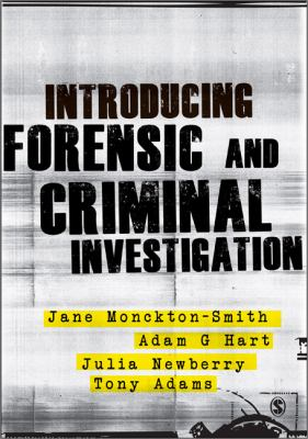 Introducing Forensic and Criminal Investigation   2013 edition cover