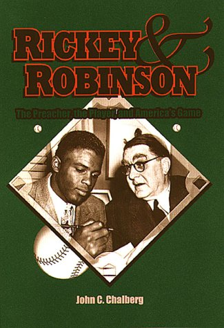 Rickey and Robinson The Preacher, the Player and America's Game  2000 edition cover