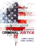 Essentials of Criminal Justice:   2014 9781285441528 Front Cover