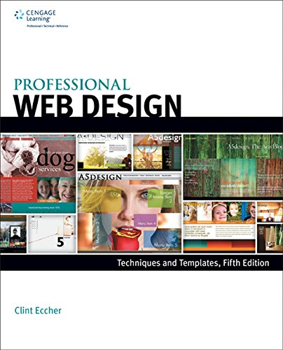 Professional Web Design: Techniques and Templates  2014 edition cover