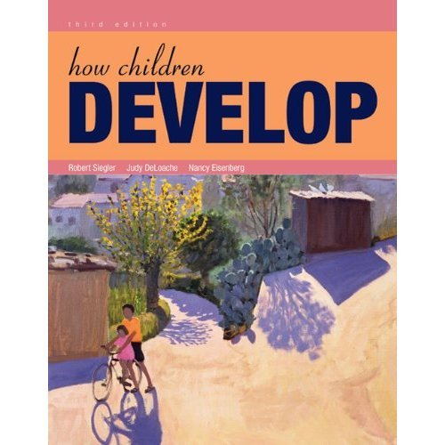 How Children Develop  3rd 2010 edition cover