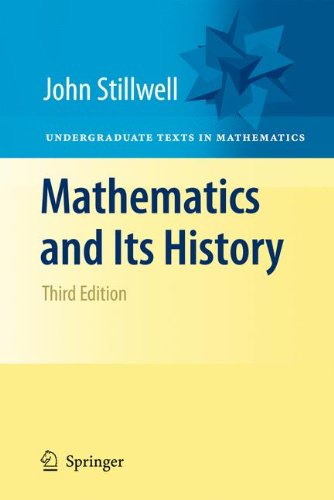 Mathematics and Its History  3rd 2010 edition cover