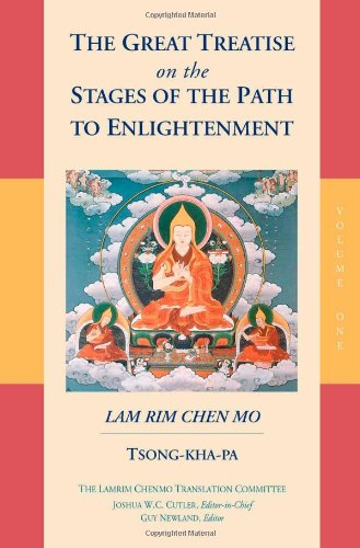 Great Treatise on the Stages of the Path to Enlightenment   2000 9781559391528 Front Cover