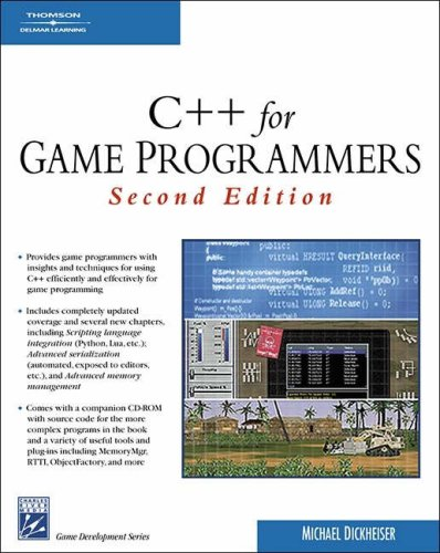 C++ for Game Programmers  2nd 2007 (Revised) edition cover