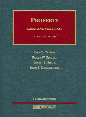 Property Cases and Materials  9th 2008 (Revised) edition cover