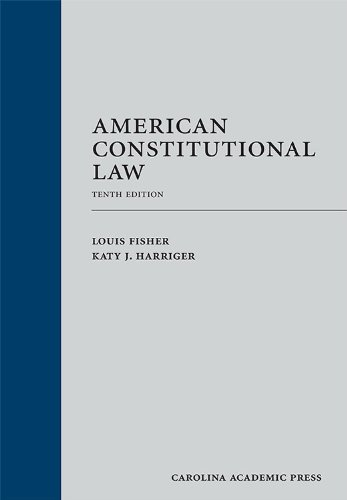 American Constitutional Law  10th edition cover