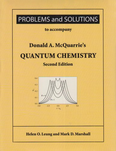 Quantum Chemistry Problems and Solutions 2nd 2007 (Revised) edition cover