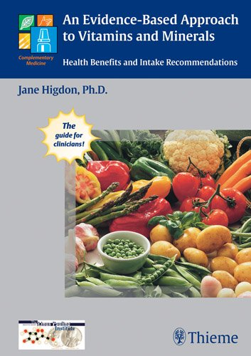 Evidence-Based Approach to Vitamins and Minerals Health Benefits and Intake Recommendations 2nd 2011 edition cover