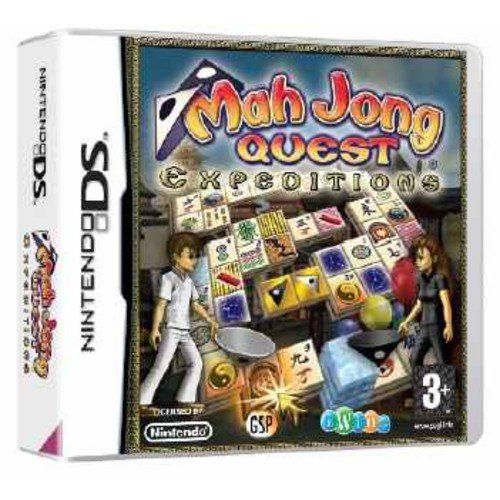 Mahjong Quest Expeditions (Nintendo DS) by Avanquest Software Nintendo DS artwork