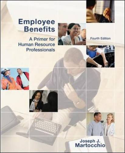 Employee Benefits  4th 2011 edition cover