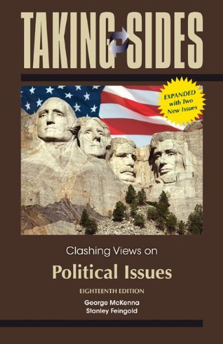 Clashing Views on Political Issues:   2013 edition cover